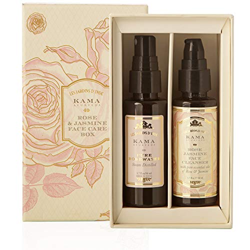 Kama Ayurveda Rose and Jasmine Face Care Box,100ml -
