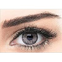 Bella Colored Natural Cosmetic Contact Lenses - Cool Grey
