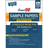 Super 20 Sample Papers (As Per Reduced Syllabus & The Latest CBSE Sample Papers For 2021 Exam) Class 12 (Science Stream) Comb