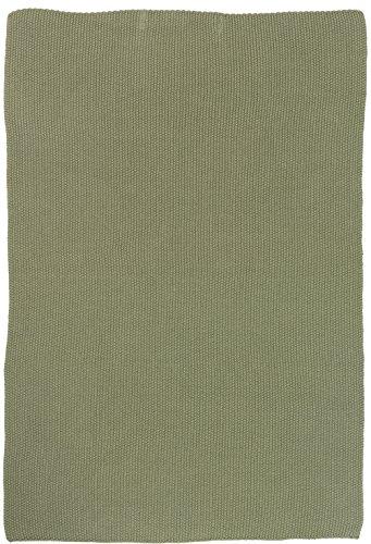 IB Laursen Handtuch Mynte Olive gestrickt Küchenhandtuch grün Khaki Küchentuch Tuch Universaltuch Allzwecktuch