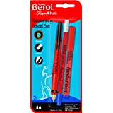 Berol Handwriting School Set - Blue (Pack of 3)