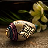 Exclusivelane Terracotta Handpainted Shankh Shaped Table Tea Light Holder -T Lights, Hanging Lights, Decorative Lights, Candle Stand, Decoration Items