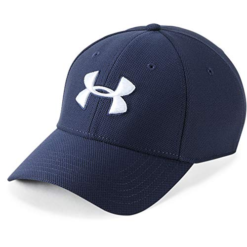 Under Armour Mens Blitzing 3.0 Cap Gorra, Hombre, Azul (Midnight Navy/Graphite/White 410), L/XL