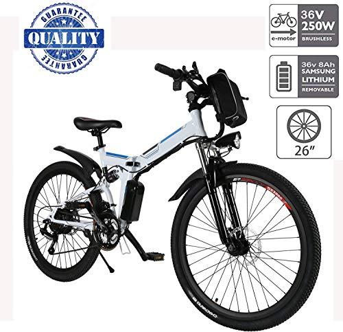 Hiriyt Vélo Electrique 26' E-Bike - VTT Pliant 36V 250W Batterie au Lithium de Grande Capacité -...