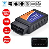WildAuto OBD 2 Wifi Diagnostic Scanner D'automobile OBD II ELM327 WiFi Véhicule pannes scanner,...