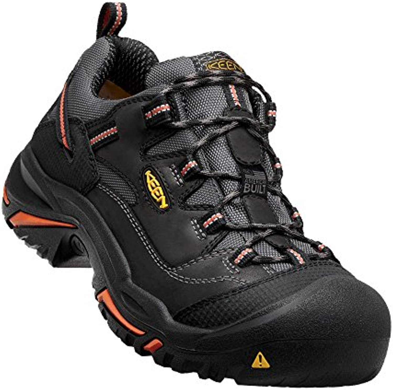Keen Utility Men's Braddock Low Steel Toed Boot Black/Bossa Nova 10 D US