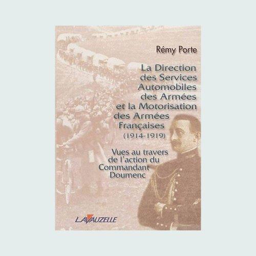 Direction des services automobiles des armées et la motorisation des armées françaises