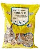 AIME Nourriture Tous rongeurs et lapins, NUTRI BALANCE Repas mélange varié, Riche en Pellets granulés, 4KG