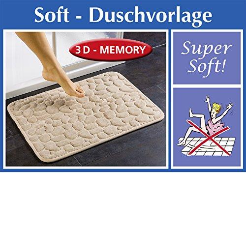 Wenko Flauschige Soft-Duschvorlage mit weichem Memory-Schaum