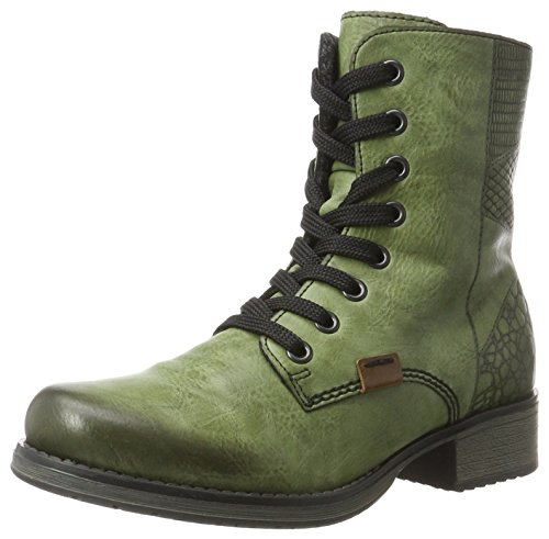 Stivaletti Rieker Ladies Y9718 Verde (foglia / Mogano)