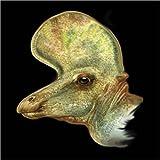 Impresión en metacrilato 30 x 30 cm: Lambeosaurus portrait. de Jan Sovak / Stocktrek Images