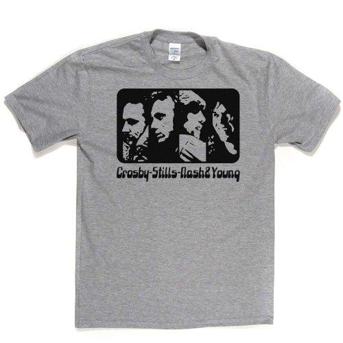CSNY Folk Music Supergroup T-shirt