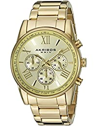 Akribos XXIV AK865YG - Reloj de pulsera para hombres, color oro