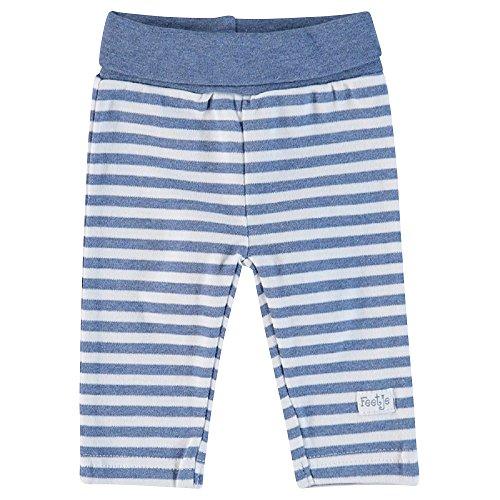 Feetje Feetje Baby Hose Sweathose Geringelt 522232 bluemelee (980) Gr.50