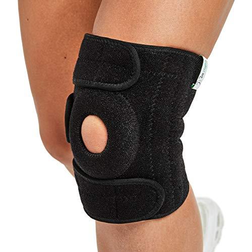 sit right Kniebandage zur Stabilisierung von Patella, Bänder & Meniskus - Kniegelenkbandage für Sport & Freizeit - Knieorthese für Damen, Herren & Kinder - Links & rechts tragbar - EINFÜHRUNGSANGEBOT