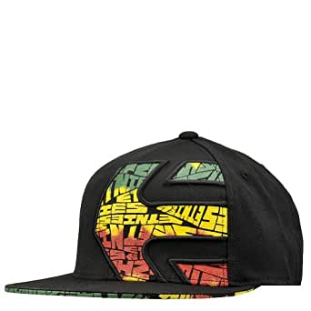 Etnies Chebby 210 Flexfit Cap - Black/Green/Gold (L/XL)