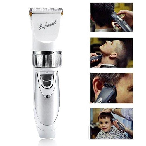 Elektrische Haarschneider, Professionelle Bart Rasierer Trimmer Bartschneider Haarscherer Haartrimmer Hair Clipper mit Trimmen Kämme für Baby Kinder Erwachsenen