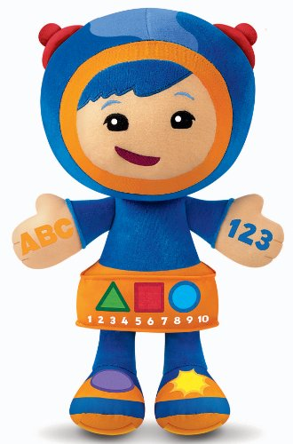 Team Umizoomi Learning Adventure Plush - Geo by Fisherprice