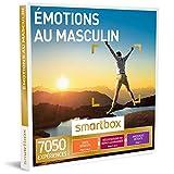 SMARTBOX - Émotions au masculin - Coffret cadeau homme - À choisir parmi 7050 expériences : dégustation, repas, activité sportive ou modelage détente
