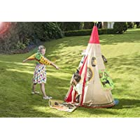 Original Organics Wigwam TeePee Play Tent For Kids - Includes Fancy Dress Accessories