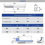 2 Stck. Drehtorantrieb CAME ATI A3024N Test