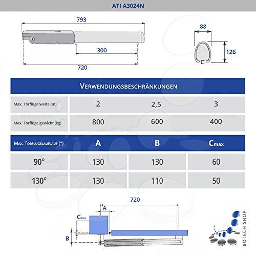 2 Stck. Drehtorantrieb CAME ATI A3024N