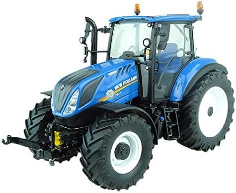 Universal Hobbies Tracteur New Holland T5.110-Echelle 1/32, UH5264, Bleu | Perpignan
