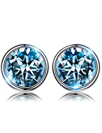 92c2bb9ccecc Susan Y Pulsera Mujer con Azul Cristales de Swarovski Regalos
