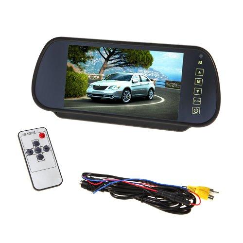 Tera Car 7' pollici TFT LCD Car Monitor retrovisore...