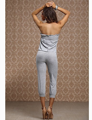 GSP-Summer Bandeau Combinaisons des femmes gray-m