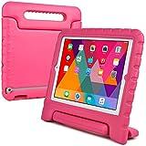 Étui enfant en rose Cooper Cases (TM) Dynamo pour iPad 2/3/4 + protecteur d'écran gratuit (léger, non toxique mousse EVA, design résistant, protection supplémentaire, support libre)