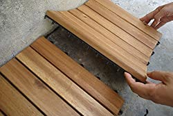 Decking tiles click deck hardware store the famous click deck hardwood decking tiles patio balcony roof terrace ppazfo