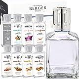 Lampe Berger Starterset Deluxe Cube inkl. großem Parfumpaket mit 8 Düften Winter Edition 2017