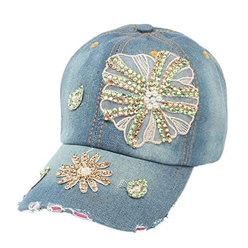 Baseball Cap,Kingko® Casquette de baseball des femmes de Hip Hop Full Flat Snapback Hat A