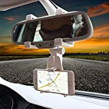 CEUTA® Mobile Phone Holder for Car Rear View Mirror Generation Car Model Anti