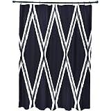 E por diseño Gate Keeper geométrico impresión cortina de ducha, Bewitching