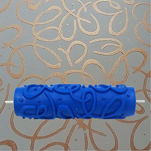 Petsola spazzola a forma di pennello con decorazione a pennello in rilievo di 7 pollici