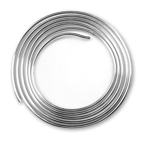 Preisvergleich Produktbild Schell 487410699 Kupferrohr in Ringform, biegsam, Länge - 5 m, ø 10 mm, chrom
