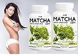 TE' VERDE MATCHA Line@diet (30 cpr) ANTIOSSIDANTE - DRENANTE | 137 volte più potente del tè verde in quanto contiene naturalmente caffeina, L-teanina e antiossidanti