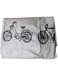 Filmer Housse pour vélos Argent 200 x 110 cm