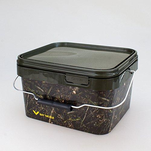 BAT-TackleRealistric® Bait Bucket 5L Angel- Futtereimer mit Deckel
