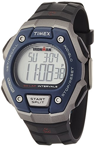 Timex TW5K86000 - Reloj deportivo (LCD, Azul, Gris)