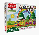 #4: Kidz Valle Alphabet Train 4 Feet Long 56 Piece Tiling Puzzles ( Jigsaw Puzzles , Puzzles for Kids, Floor Puzzles ), Puzzles for Kids Age 4 Years and Above. Size: 28.5 cm X 28.5 cm