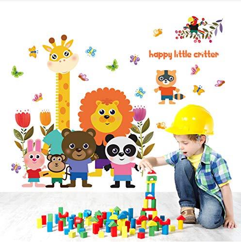 Jushuyin Happy Little Critter Kinder Wandaufkleber Für Kinderzimmer Kindergarten Baby Schlafzimmer Wand Dekor Aufkleber Tier Wohnkultur