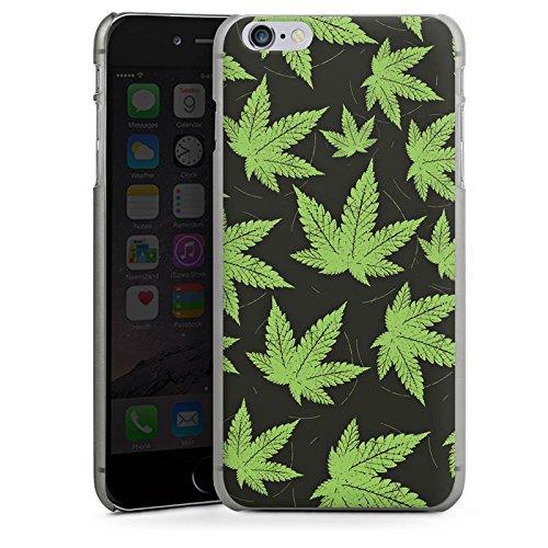Apple iPhone 5 Housse étui coque protection Feuille de chanvre Feuille de cannabis Vert CasDur anthracite clair