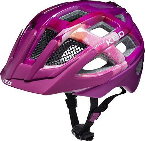 KED Meggy Helmet Kids violet stars 2019 Fahrradhelm pink Helme & Protektoren