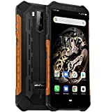 Ulefone ARMOR X5 4G Rugged smartphone, MTK6763 Octa-core 3GB + 32GB, 5,5 Pollici Telefono Resistente Ip68 Impermeabile Android 9.0, Dual SIM, 13MP + 5MP + 2MP, Batteria 5000mAh, NFC GPS Arancia