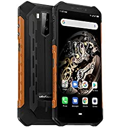 "Ulefone Armor X5 - 4G Outdoor Smartphone Ohne Vertrag, MTK6763 Octa-Core 3GB RAM 32GB ROM, Android 9.0 5.5"" IP68 / IP69K Robustes Handy, Dual-SIM, 13MP + 5MP + 2MP, 5000 mAh Akku, GPS NFC Orange"