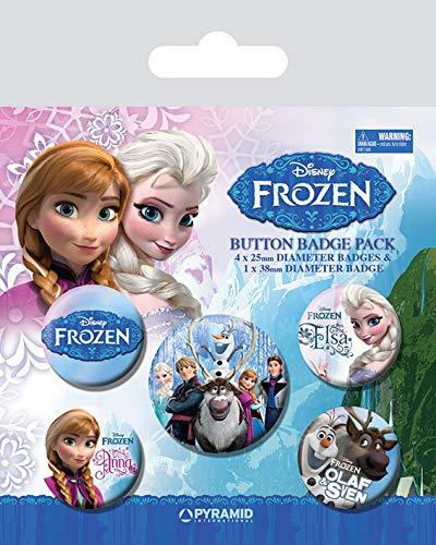 Frozen, Abzeichen, 10 x 12.5 cm