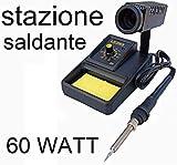 STAZIONE SALDANTE STAGNO SALDATORE PROFESSIONALE 60Wa temperatura controllata
